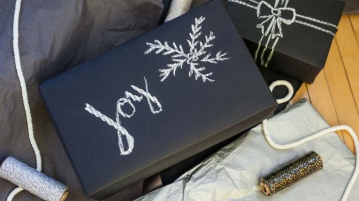 geschenke verpacken geschenk verpacken geschenke schön verpacken geschenk biene braun gruen-schwarz