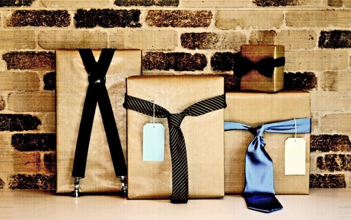 geschenke verpacken geschenk verpacken geschenke schön verpacken geschenk biene braun gruen titel