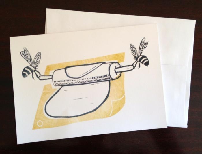 geschenke verpacken geschenk verpacken geschenke schön verpacken geschenk biene karte