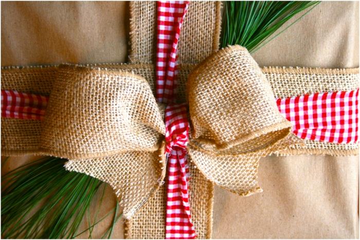 geschenke verpacken geschenk verpacken geschenke schön verpacken geschenk idee jute
