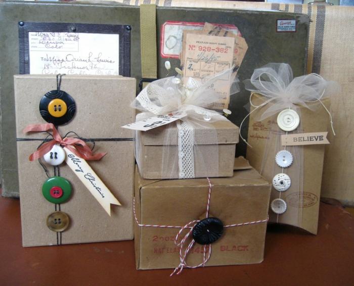 geschenke verpacken geschenk verpacken geschenke schöne verpacken geschenk knoepfe