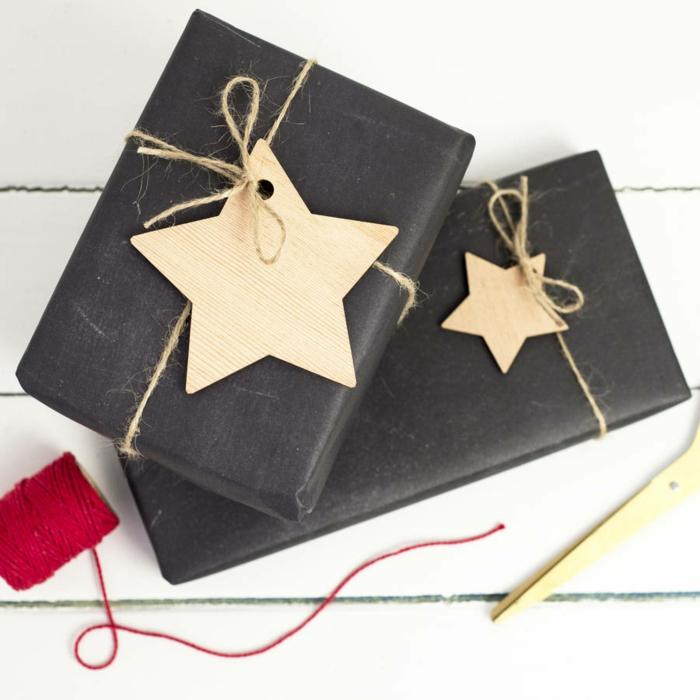 geschenke verpacken geschenk verpacken geschenke schön verpacken geschenk stern name