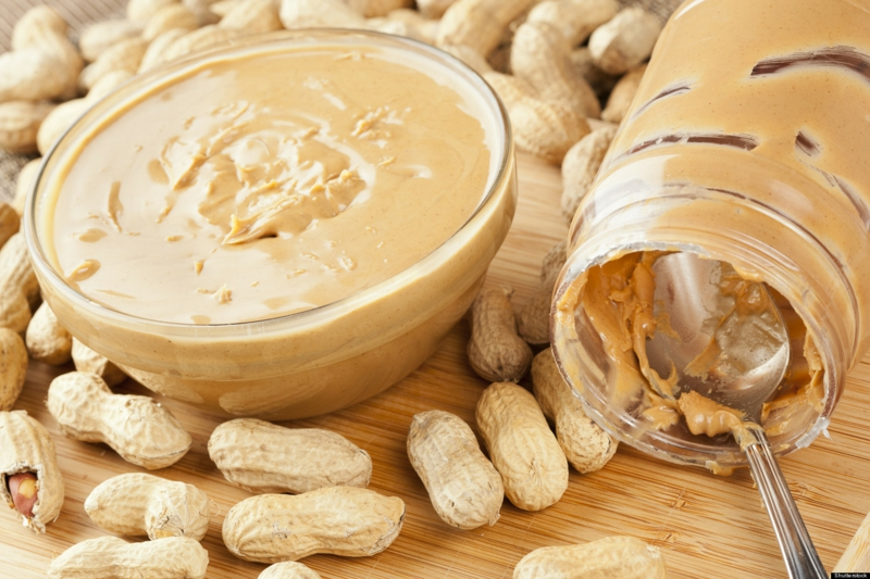 gesunde lebensweise frauen über 50 Ernährung Erdnussbutter
