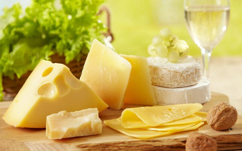 gesunde lebensweise frauen über 50 Ernährung Käse Sorten