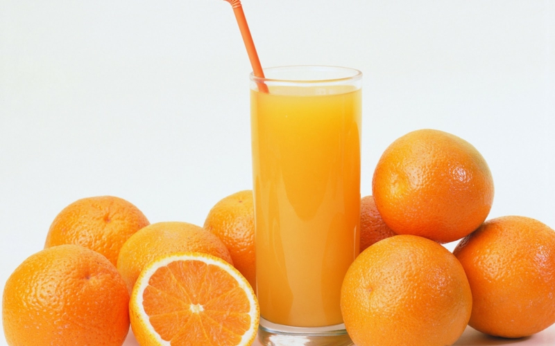 gesunde lebensweise frauen über 50 Ernährung O-Saft