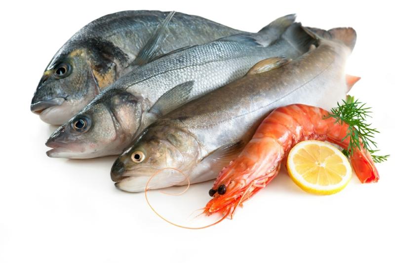 gesundes Leben Frauen gesunde Lebensmittel Fisch
