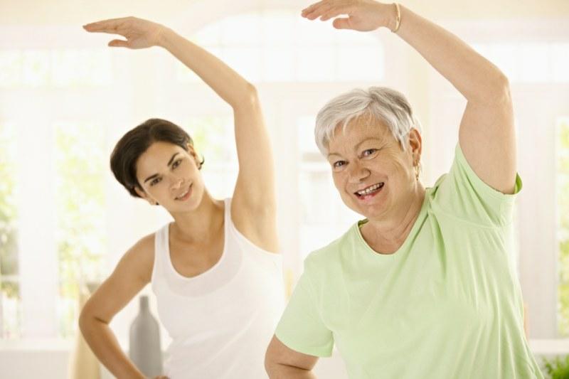 gesundes Leben Frauen gesunde Lebensweise Ernährung Sport
