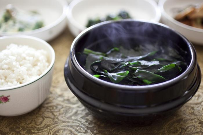 gesundes essen algen essen rezeptideen suppe