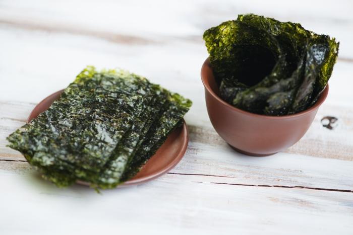 gesundes essen algen rezeptideen gebratene algen