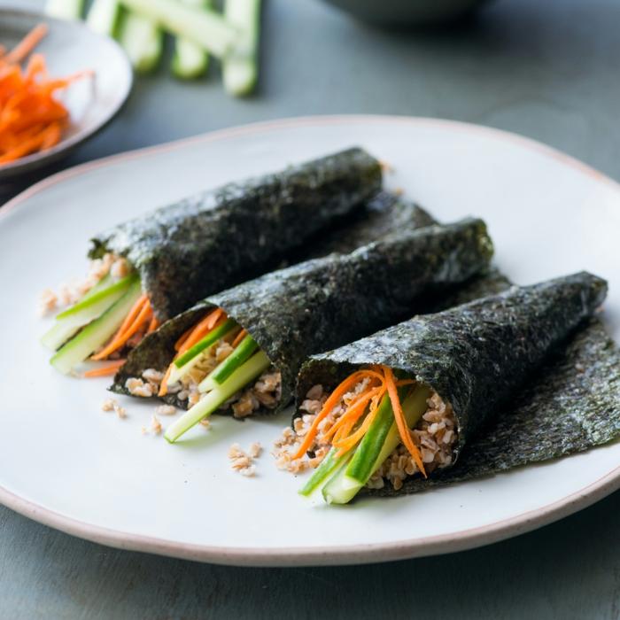 gesundes essen gebratene algen rezeptideen gesundheit lifestyle