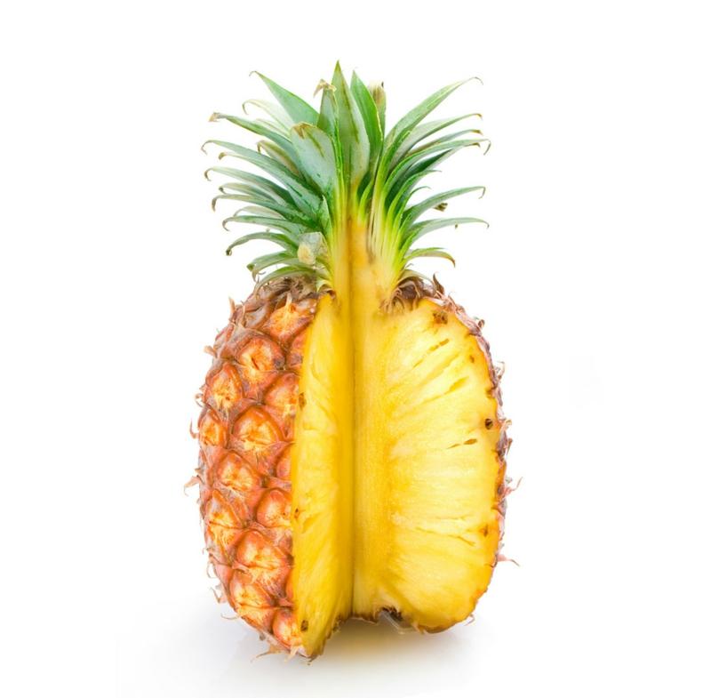 gesundes leben frauen gesunde lebensmittel ananas