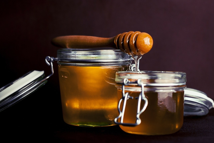 gesundes leben honig gesund haut reinigen
