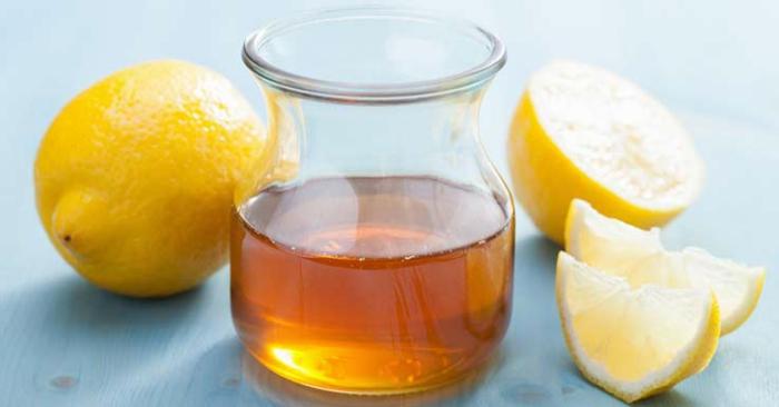 gesundes leben honig warmes wasser zitronen gesund