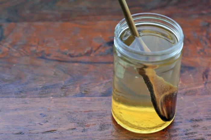 gesundes leben honig wasser trinken gesund