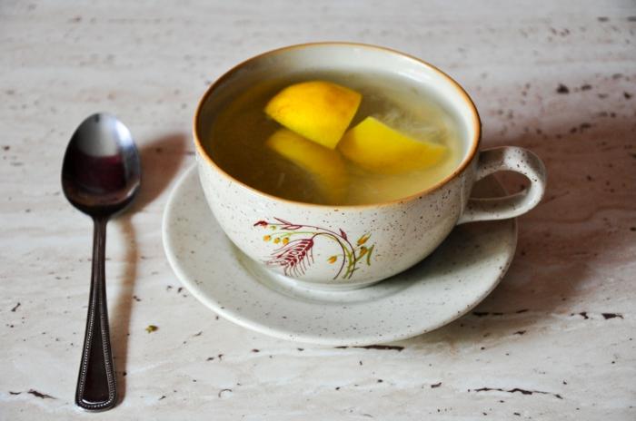 gesundes leben ist honig gesund waser honig zitrone