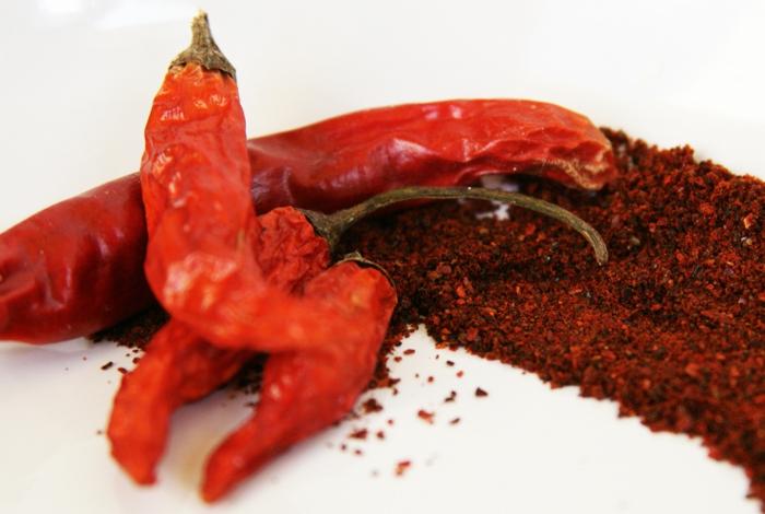 gewürze liste chili eigenschaften gesunde nahrung
