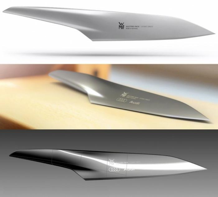 gute Küchenmesser Messerset Test organische Form