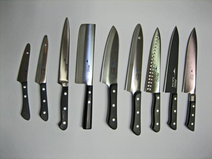 gute Küchen Messer Test verschiedene Kochmesser