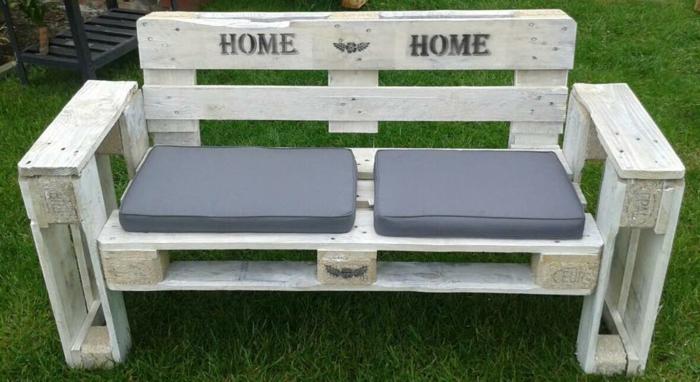 holz paletten gartenmöbel diy sofa selber machen