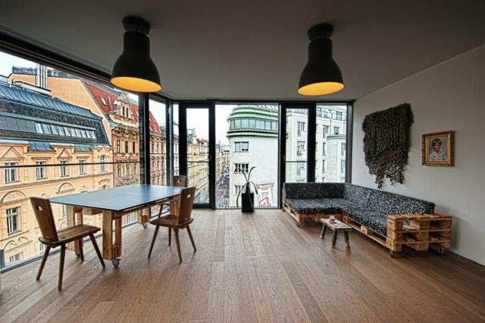 101 holzpaletten ideen für ihr stilvolles zuhause, Wohnzimmer