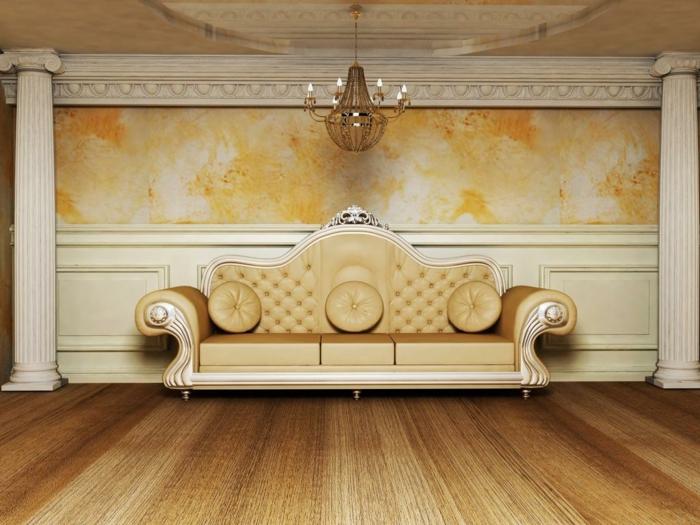 schöne sofas schöne wandgestaltung leuchter wohnideen einrichtungsideen