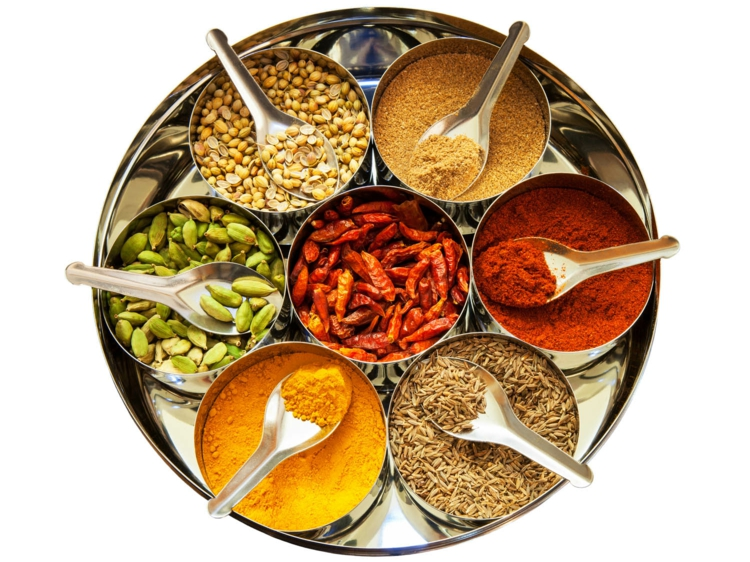 scharfe gewürze kaufen indisches essen kochen
