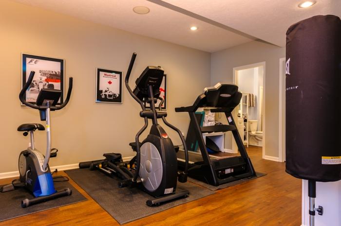 innendesign fitness geräte spezieller raum