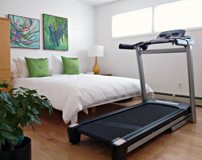 innendesign schlafzimmer einrichten geszundes leben fitness geräte