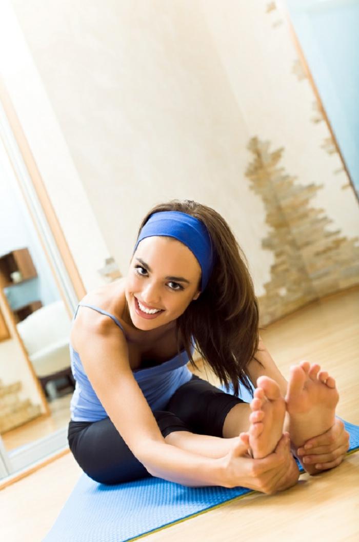 schöne wohideen sportbereich gestalten joga trainieren