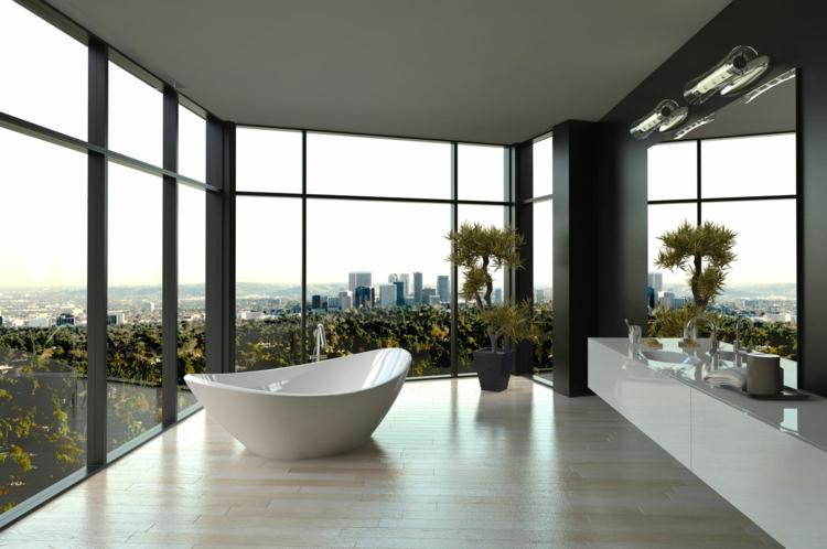 innovative Balkonideen Badezimmer auf dem Balkon gestalten
