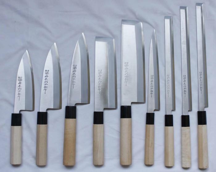 japanische Kochmesser küchen messer set testen