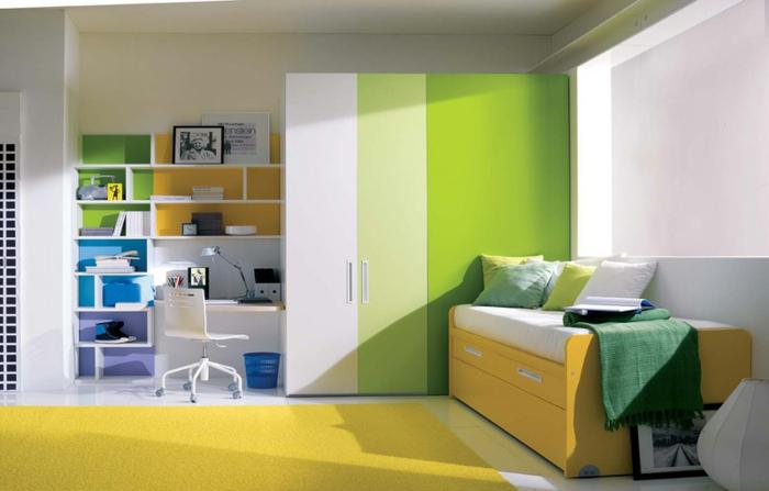 Jugendbett design  Das Jugendbett hilft Ihnen, dem Schlafzimmer Ihrer Teenies ...