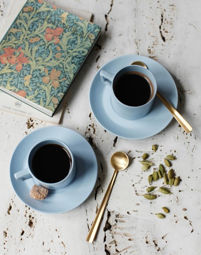 Elettaria cardamomum aromatisch gesund kaffee kochen