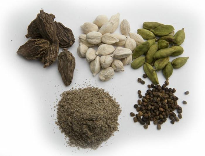 Elettaria cardamomum aromatisch gesund kardamomsorten pulver samen