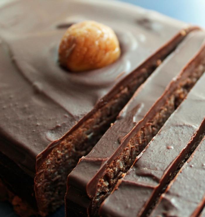 kastanien edelkastanien esskastanien maronen schokoladenkuchen