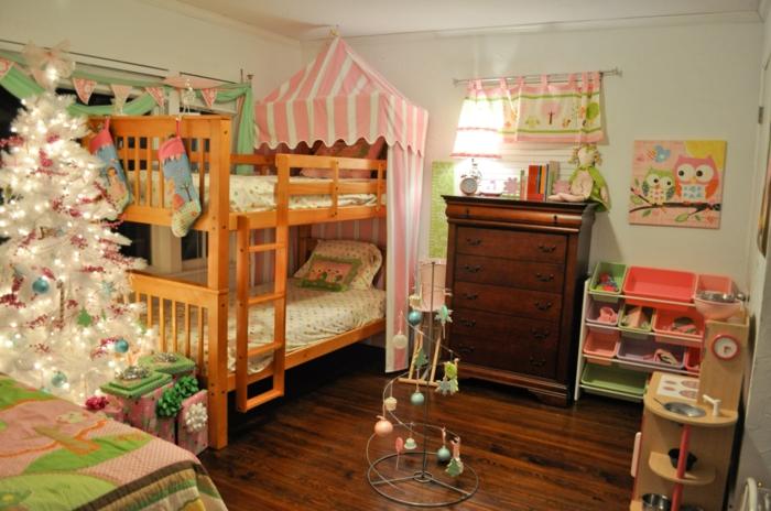 kinder etagenbett wohnideen kinderzimmer mädchenzimmer gestalten
