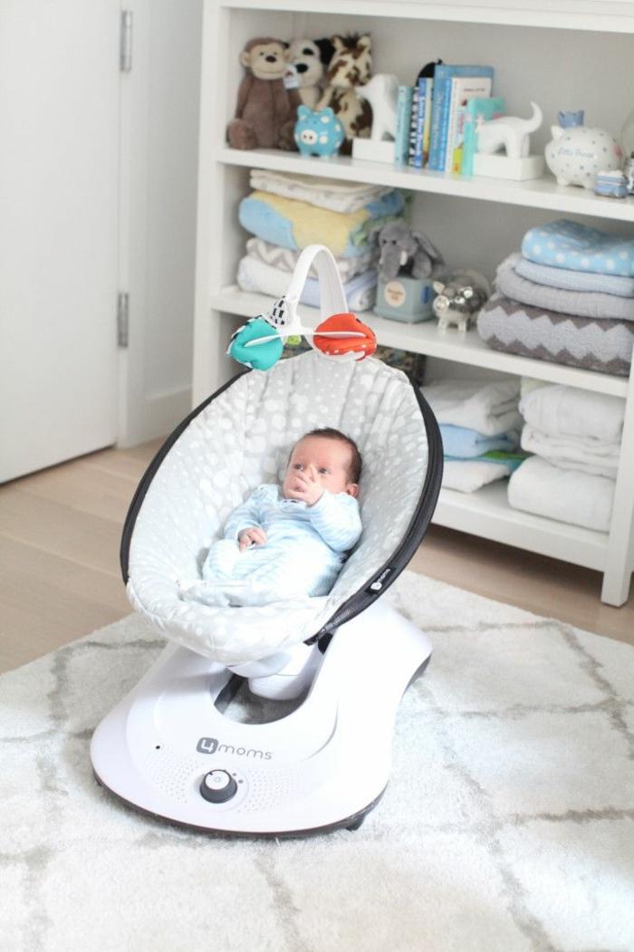 kindermöbel babyschaukel modernes design babyzimmer