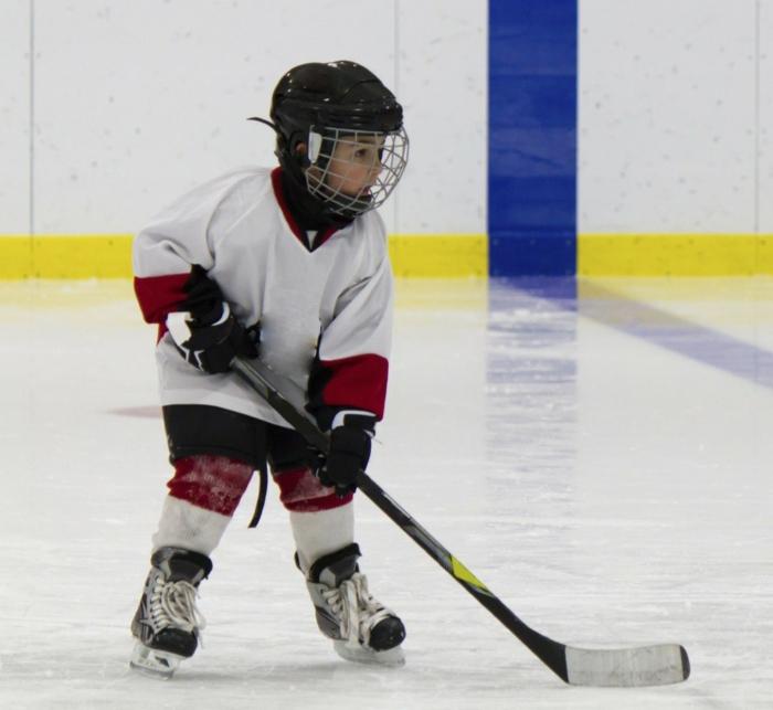 kindersport auswählen jungen hockey spielen
