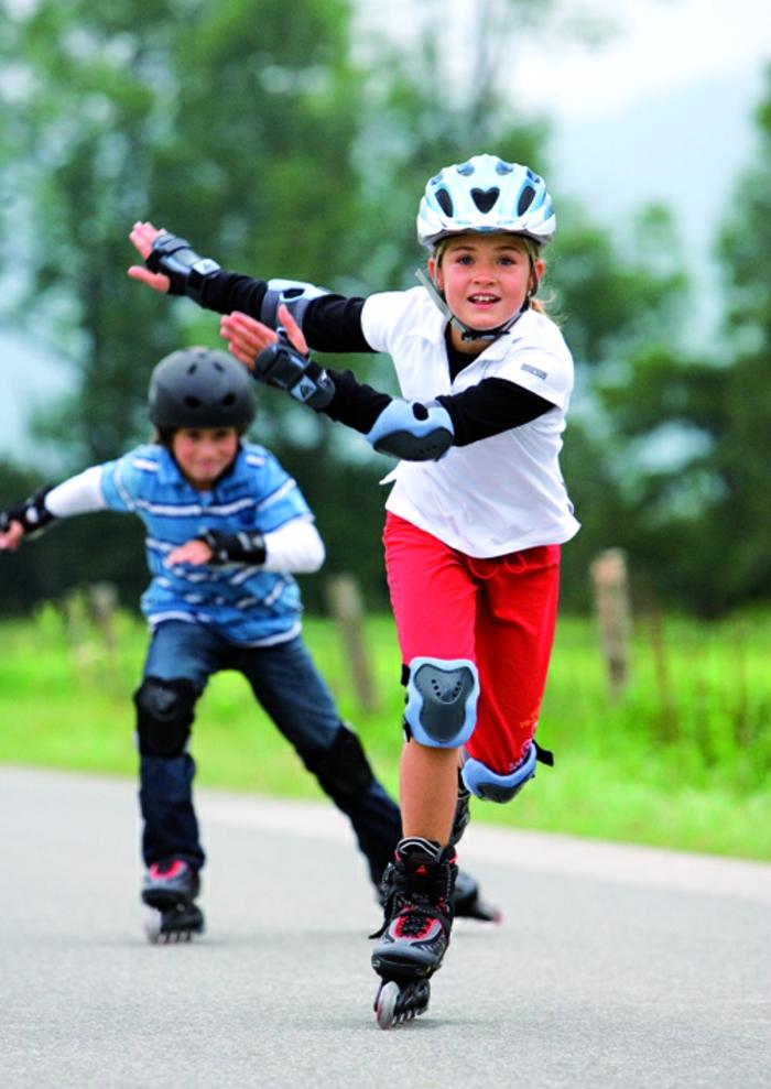 kindersport ideen rollschuhlaufen sportarten kinder