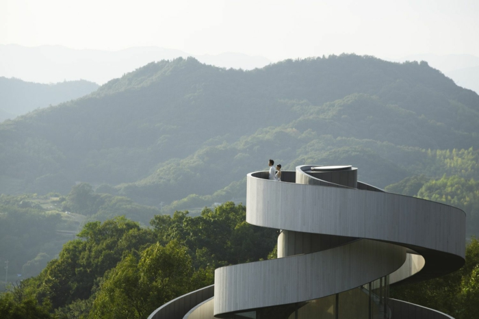 kirchliche trauung ribbon chapel hiroshi nakamura japan architektur aufgedreht