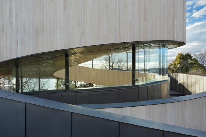 trauung ribbon chapel hiroshi nakamura japan architektur glas beton