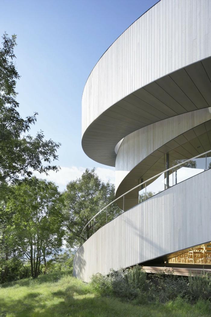 kirchliche trauung chapel hiroshi nakamura japan architektur seitlich