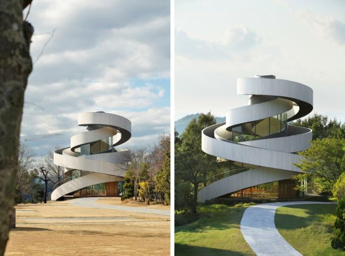 kirchliche trauung ribbon chapel hiroshi nakamura japan architektur zweier