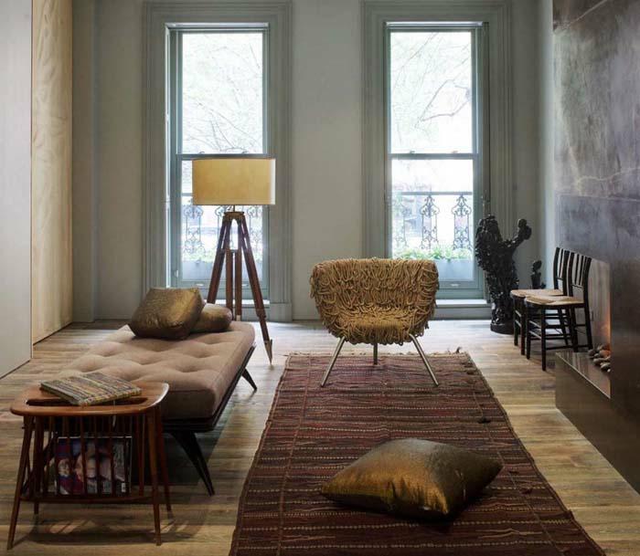 Kleines wohnzimmer einrichten 57 tolle einrichtungsideen for Wohnzimmer 50er stil