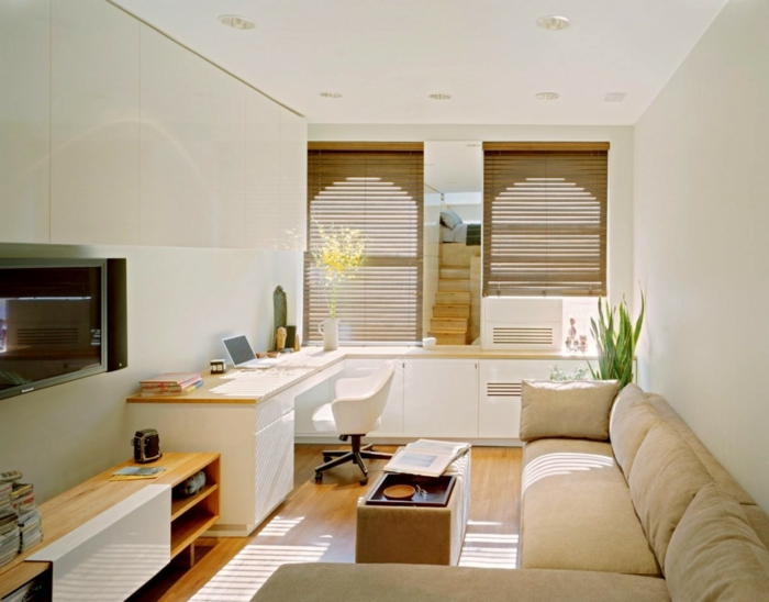 Schön 57 Ideen, Wie Sie Ihr Kleines Wohnzimmer Einrichten Können |  Einrichtungsideen ...