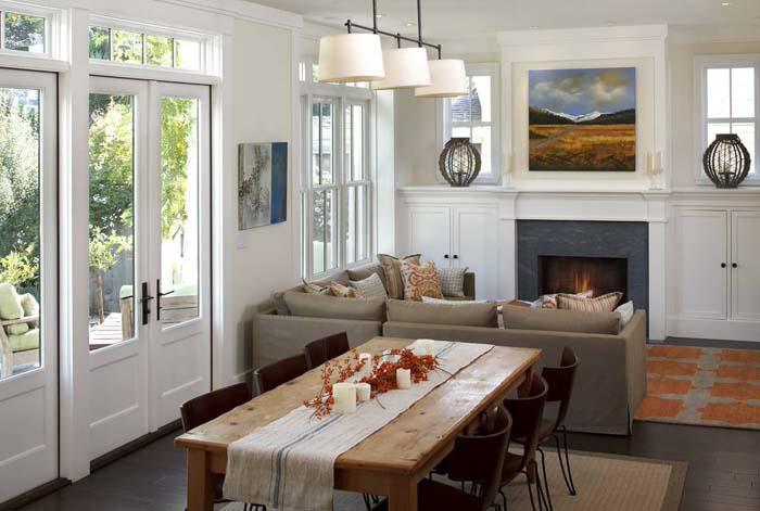 wohnzimmer und kamin kleine wohnzimmer mit essbereich
