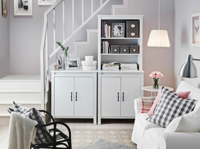 Einrichtungsideen Wohnzimmer Ikea - Wohndesign Ideen