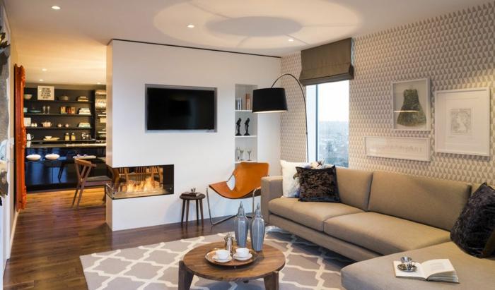 Beautiful Trennwand Im Wohnzimmer Contemporary - House Design