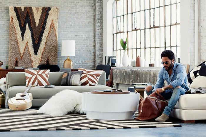 moderne Wohnungseinrichtung Designermoebel Lenny Kravitz CB2