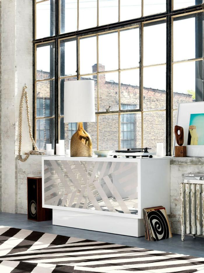 moderne sideboards silber weiß Lenny Kravitz Designermöbel CB2